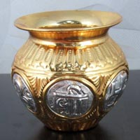 Gold Plated Kalash
