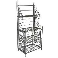 Wrought Iron Shelves