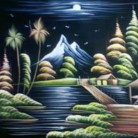 Velvet Paintings