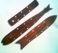Wooden Incense Holders