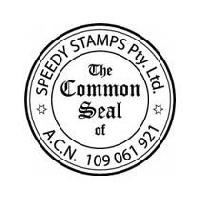 Common Seal Stamp