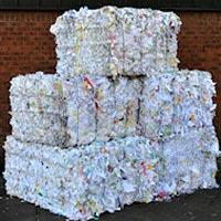 Baled Waste Paper