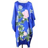 Silk Kaftan Dress