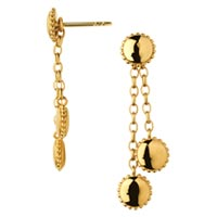 Yellow Gold Earring