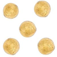 Gold Foil Bead