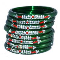 Designer Glass Bangles