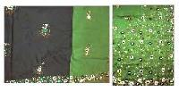 Hand Embroidered Silk Sarees