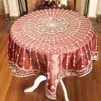 Silk Table Cover