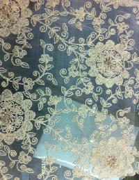 Embroidered Net Fabrics
