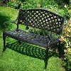 Wrought Iron Garden Benches