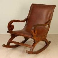 Wooden Rocking Chair Manufacturers Suppliers Exporters in India