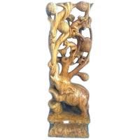 Wooden Animal Statue