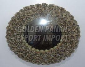 Handmade Rose Wreath Mirror (4134)