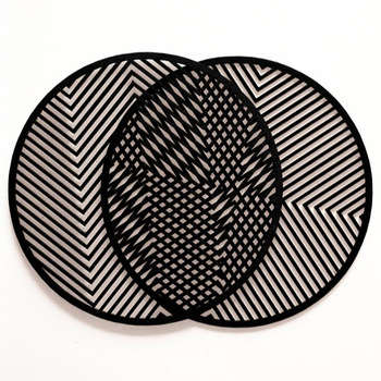 Black Paint MDF Coasters