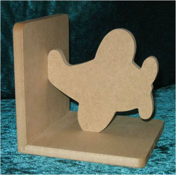 MDF Wooden BookEnds