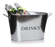 Stainless Steel Beverage Oval Tub