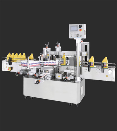 Front Back Labeler Machine