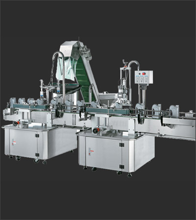 One Head Two Head Auto Capping Machine