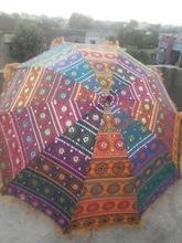handmade vintage embroidered umbrella