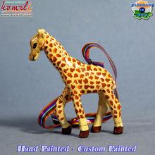 hand made paper mache Giraffe