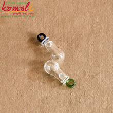 mini glass bottle pendant