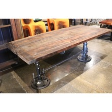 Industrial design dining crank table