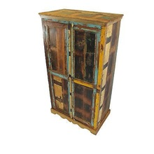 vintage Wooden reclaimed Wardrobe