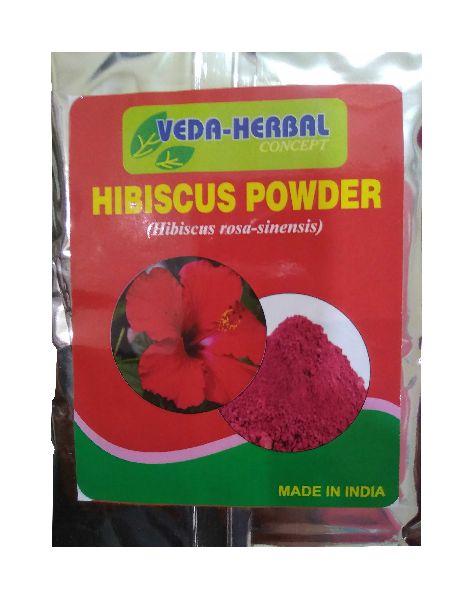 Buy Dry Hibiscus Flowers Powder From Veda Herbal Concept Delhi