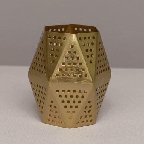 brass antique designer votive
