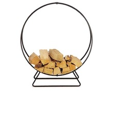 round large log holder