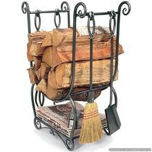 unique metal log holder