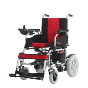 Folding Motorized Wheelchair with EMB