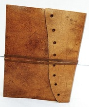 strap leather journal diary