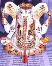 Wooden Ganesha carvings wood sculpture