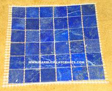 Blue Lapis Lazuli Gemstone Tiles