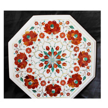Handmade White Marble Table top