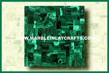 Indian Gemstone Malachite Tile