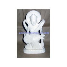 Italian Marble Saraswati Maa Statues
