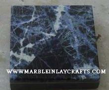 Lapis Lazuli Semi Precious Gemstone Floor Tile