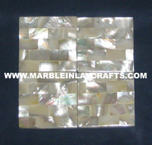 Shell Mop Decorative Shiny Floor Tiles