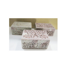 Soapstone Jewellery Box
