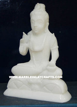 Unique White Shankar Ji Statues