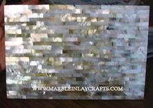 White Mother Of Pearl Handmade Tiles