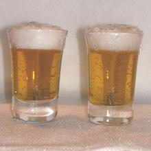 BEER PRINTED GLASS