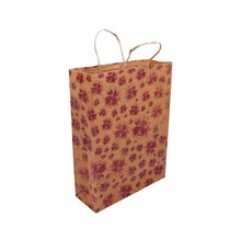 CLASSIC BROWN SHOPPING PAPER BAG