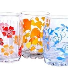 Colorful decorative jar set