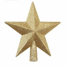GOLD COLOR CHRISTMAS DECORATIVE STAR