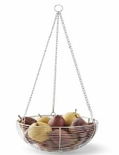 HANGING METAL WIRE BASKET