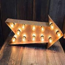 led light acrylic alphabet letter sign