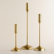 Luxury Antique Brass Candle holder